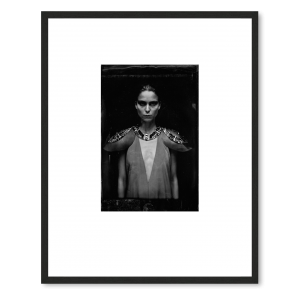 ONDREJ JANU, ORIGINAL AMBROTYPE / TINTYPE, LIMITED EDITION 1/1 SIGN
